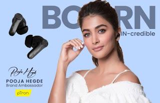 ptron-signed-pooja-hegde-as-brand-ambassador