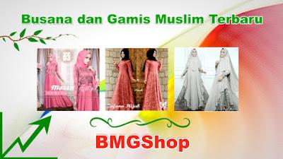 Baju Gamis Terbaru BMGShop