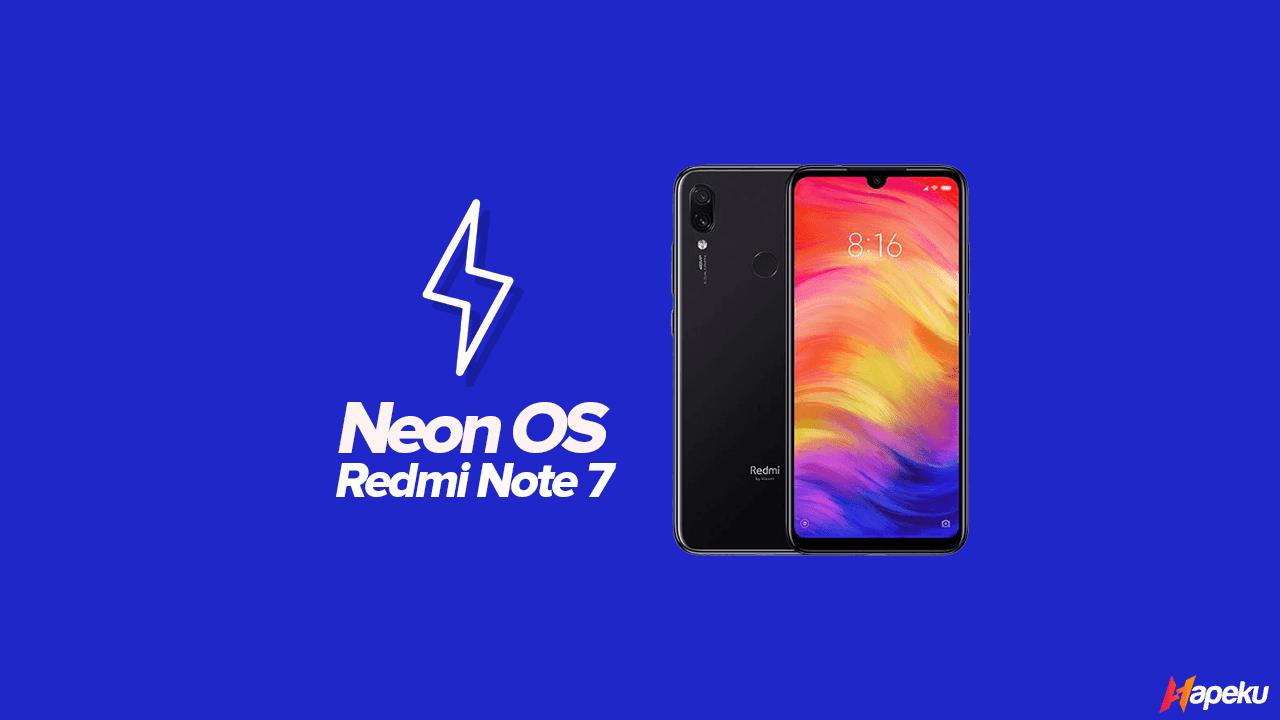 ROM Neon OS Xiaomi Redmi Note 7 ( LAVENDER )