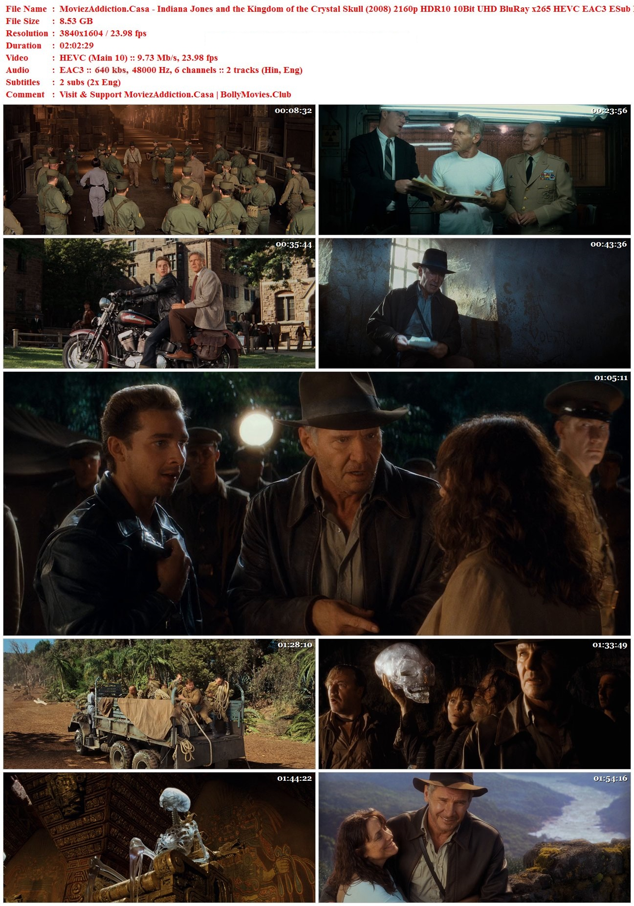 Download Indiana Jones and the Kingdom of the Crystal Skull