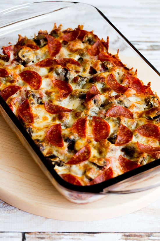 LOW-CARB DECONSTRUCTED PIZZA CASSEROLE  #recipes #dinnerrecipes #funrecipestomakefordinner #food #foodporn #healthy #yummy #instafood #foodie #delicious #dinner #breakfast #dessert #lunch #vegan #cake #eatclean #homemade #diet #healthyfood #cleaneating #foodstagram