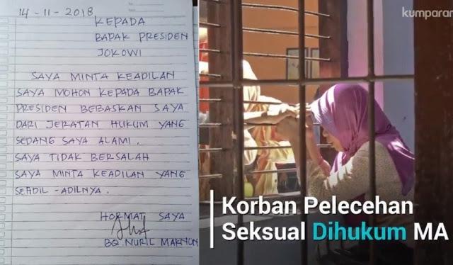 Mohon Keadilan, Guru Honorer Korban Pelecehan Seksual Tulis Surat Terbuka untuk Jokowi