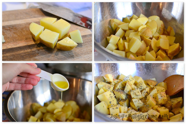 How to make roasted potatoes