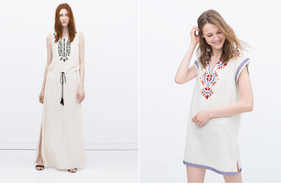 Zara's Brilliant Embroidery  Dresses  For Girls fashionwearstyle.com