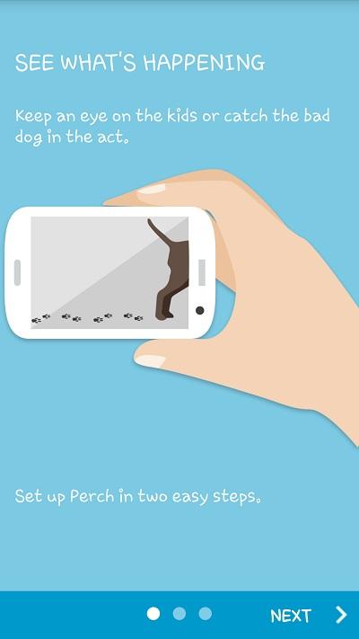 شرح كيفية تحويل هاتفك الاندرويد الي كاميرا مراقبة Perch