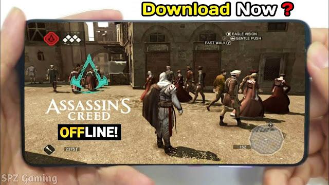 Download Assassin's creed Original Android Offline 700Mb Best Graphics