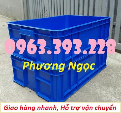 Thùng nhựa đặc HS003, sóng nhựa bít HS003, khay nhựa công nghiệp, T%25C4%2590196