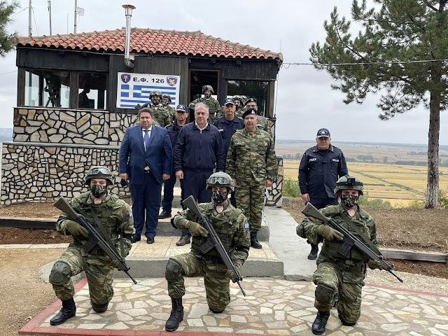 Θεοδωρικάκος: Ενισχύουμε την ασφάλεια των ελληνοτουρκικών συνόρων με 250 νέους συνοριοφύλακες (ΦΩΤΟ-ΒΙΝΤΕΟ)
