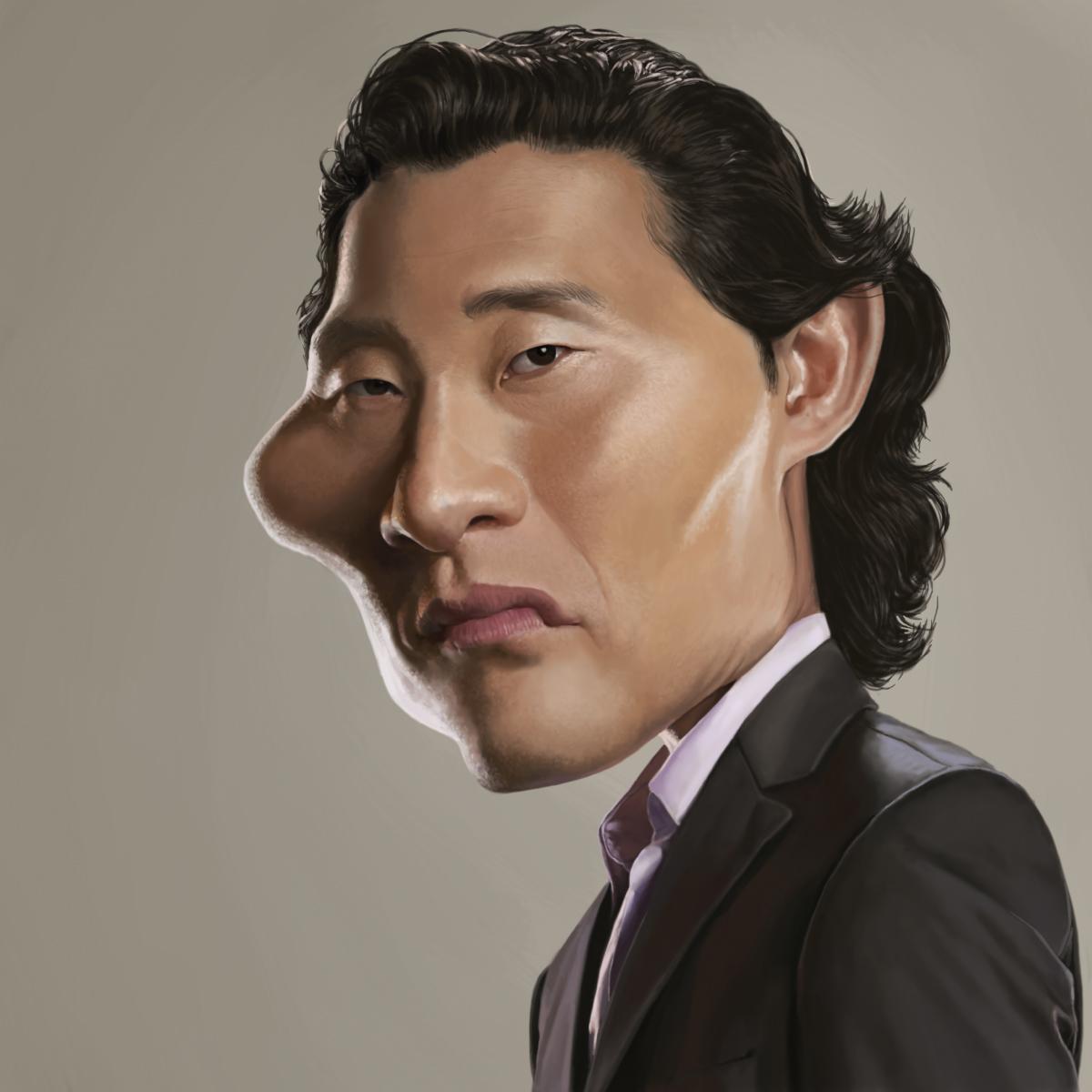 Daniel Dae Kim por Yoann Lori