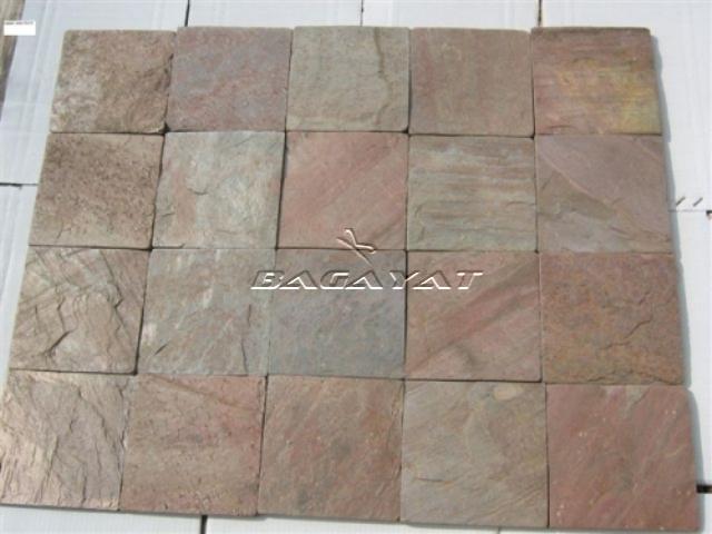 Indian Slate Stones: Copper Slate Stone Tiles