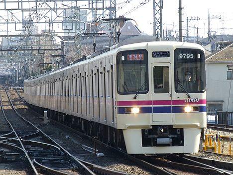 京王電鉄 準特急 京王八王子行き8 9000系新LED