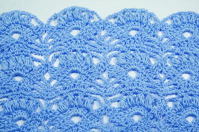 5 - Crochet Imagen Punto fantasía pra faldas y blusas muy fácil y sencillo por Majovel Crochet