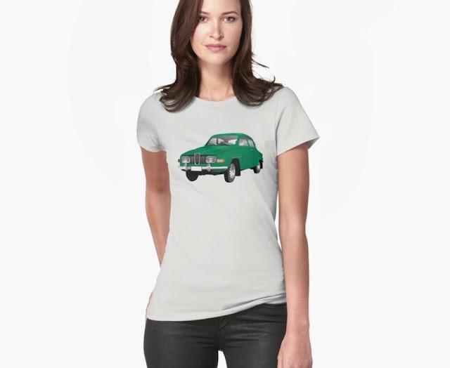saab 96 classic green color
