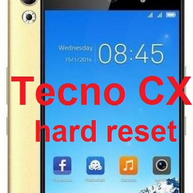 Flash File Tecno Cx Air