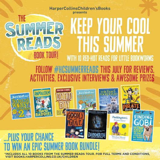 Harper Collins Summer Reads - Grandpa's Great Escape inspired days out and a book bundle giveaway!