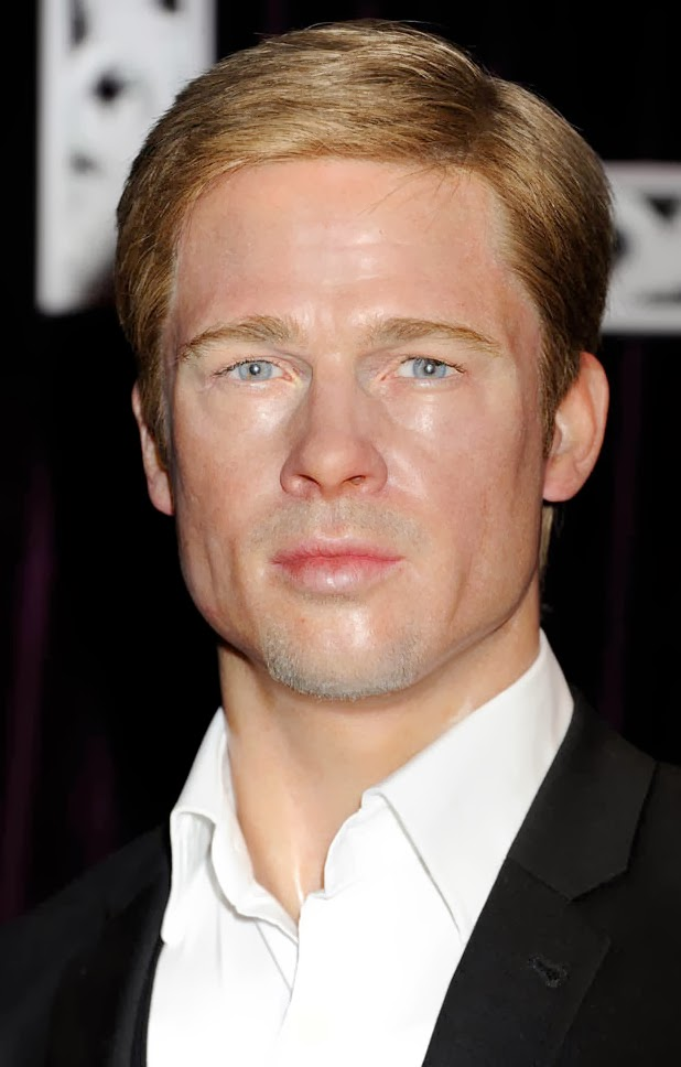 Brad Pitt Hairstyle Pics  Celebrity Magazine