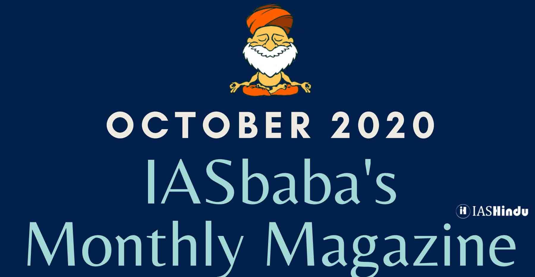 IAS baba Current Affairs October 2020