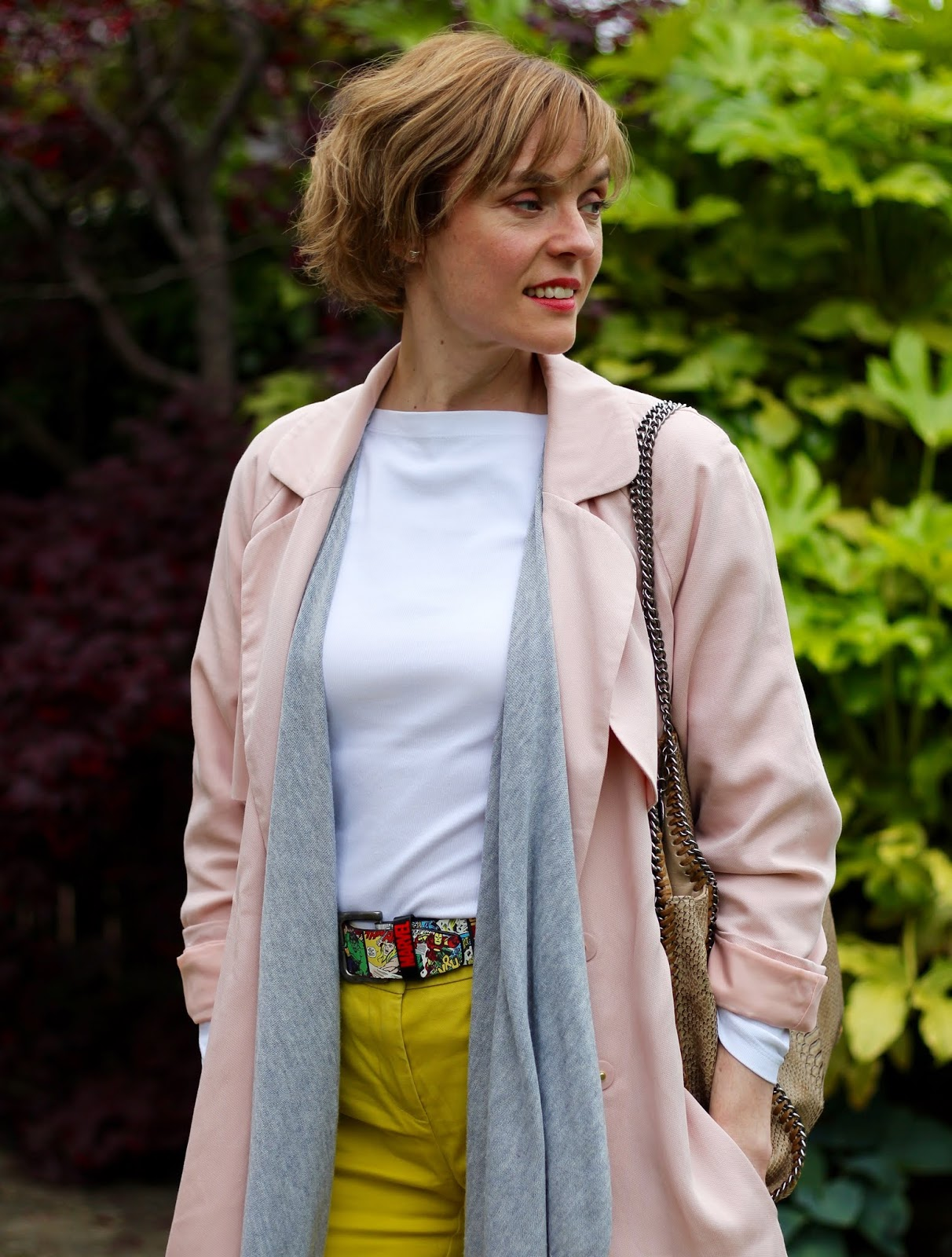 Layered Summer Outfit | Peach, White & Yellow | Fake Fabulous