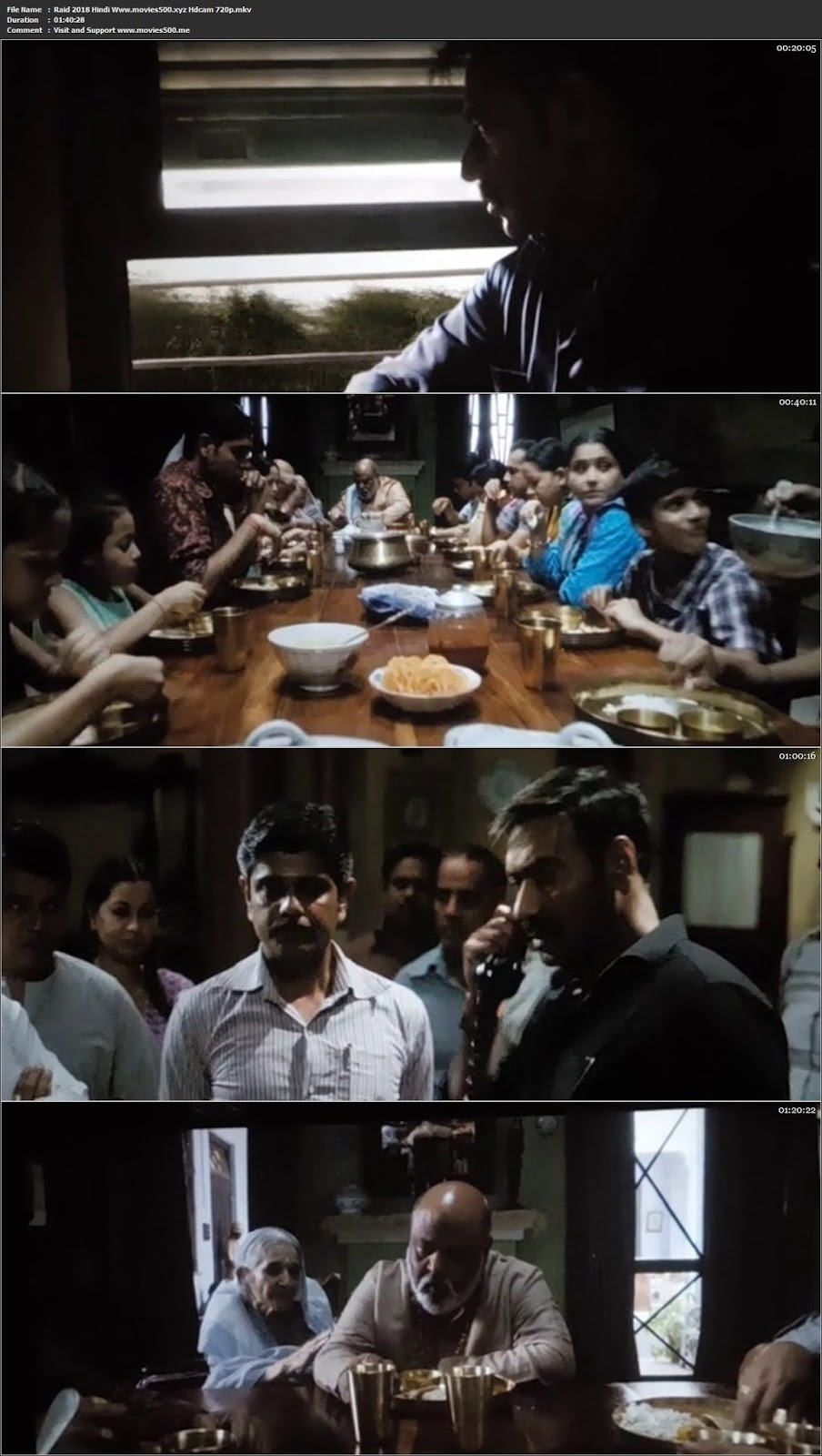 Raid 2018 Hindi pDVDRip Full Movie 720p 600MB at movies500.site