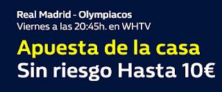 william hill promocion Real Madrid vs Olympiacos 9 febrero