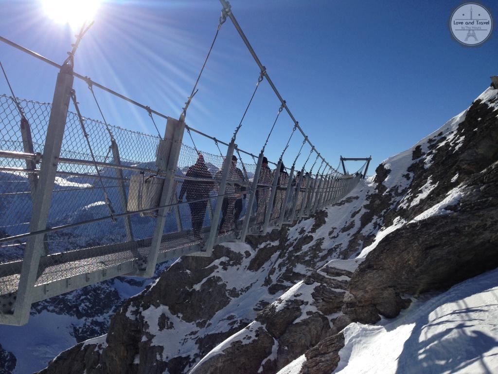 Cliff Walk Monte Titlis-roteiro Suíça  8 dias