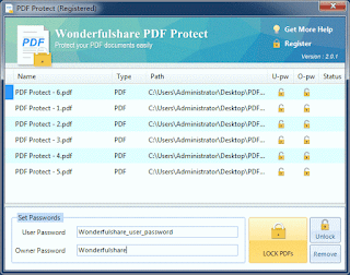 Wonderfulshare PDF Protect 2.0.1 etkinlestirme anahtari, key, serial, lisans, lisans kodu, activation code