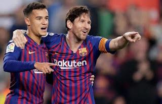 ميسي يتألق..فوز فريق برشلونة على نظيره اتلتيك بلباو في بطولة الدوري الاسباني