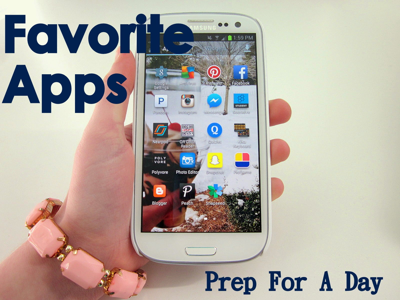 The Top Ten Apps To Have -- Prep For A Day