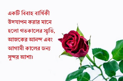 Marriage Anniversary Wishes for Family in Bengali