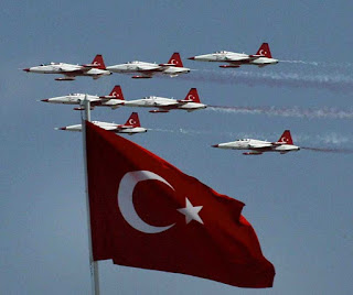 Turkish Air Force Victory Day Celebrates