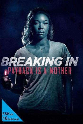 Breaking In 2018 Dual Audio ORG Hindi 480p BluRay 300MB ESubs poster