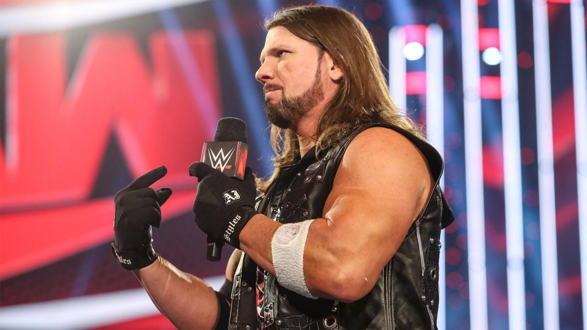 AJ Styles on WWE RAW
