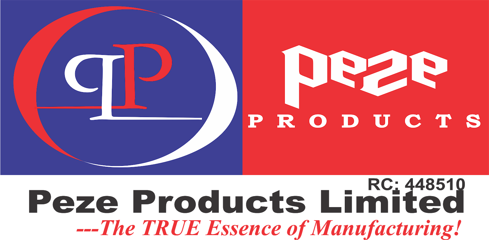 PEZE PRODUCTS LIMITED