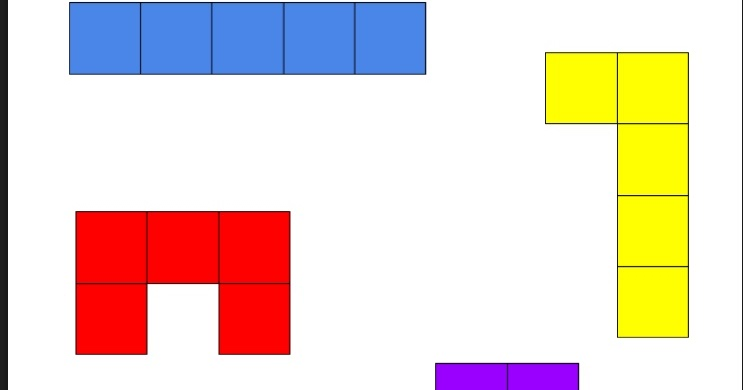 graphic about Pentominoes Printable identified as Pleased Mastering in just the Early Yrs: Printable Pentominoes