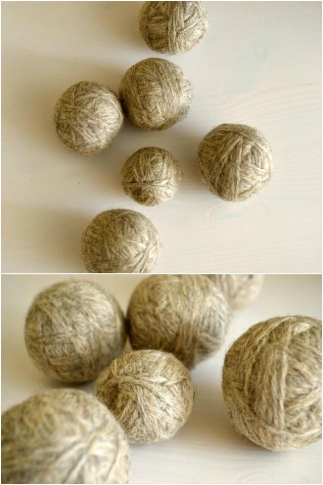 How to Make Felt Dryer Balls // DIY Felt Dryer Balls