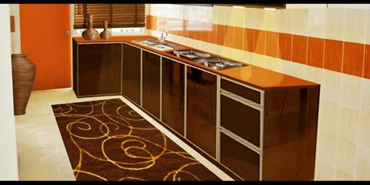 Contoh Reka Bentuk Dapur Rumah Teres
