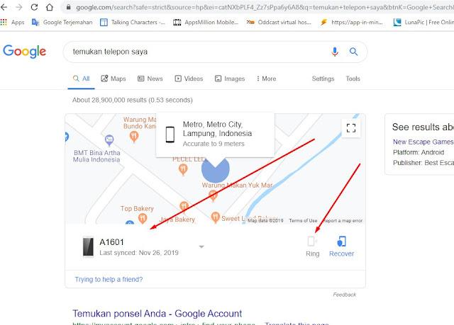 Cara Menemukan Ponsel Android Menggunakan Deringnya