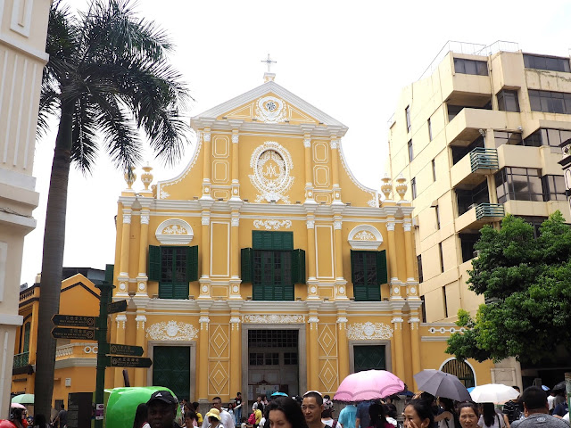 St Domingo church, Macau
