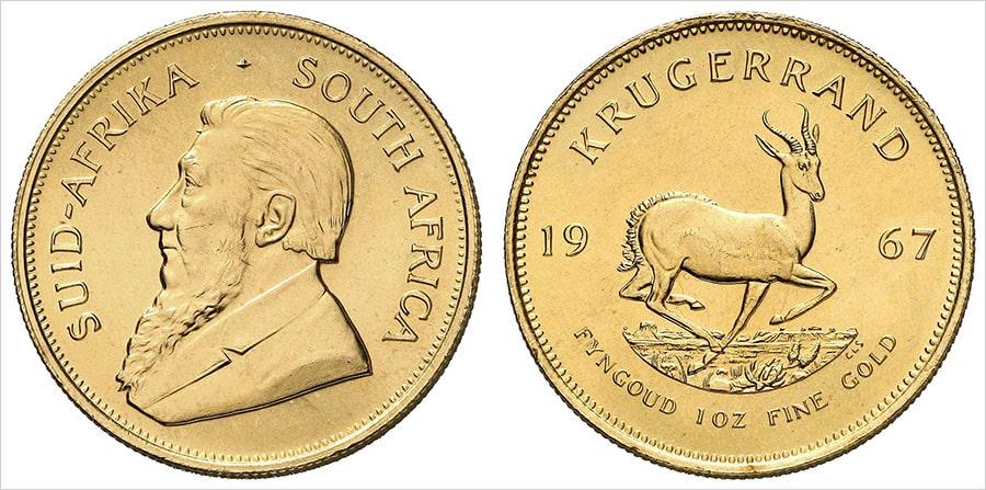 Вложение в монеты ЮАР