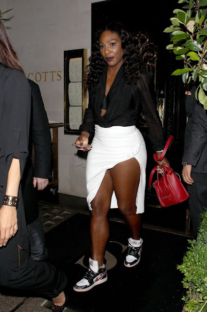 world's No. 1 tennis player, Serena Williams