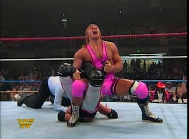 WWF / WWE - King of the Ring 1994: After a great, if short, match, Owen Hart defeated 123 Kid with a sharpshooter