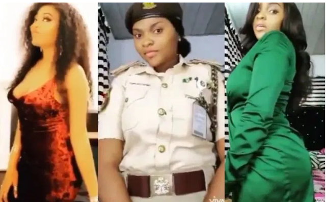 See What Happened to Female Nigerian Immigration officers who participated in social media challenge