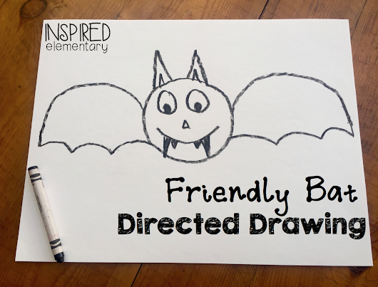 Friendly Bat Directed Drawing