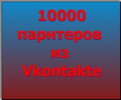 Партнеры в ваш бизнес из социальной сети Vkontakte