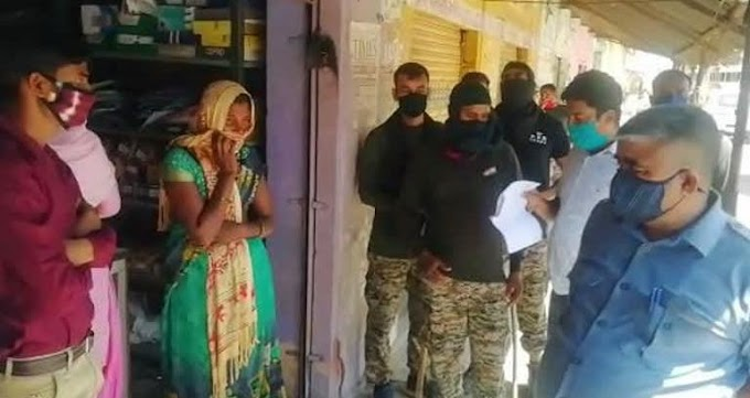 Dholpur News-धौलपुर-राजस्थान : 3 घंटे तक  दुकान में बंद मां-बेटी चीखती-चिल्लाती रहीं, एसपी ने बचाई जान, दुकानदार गिरफ्तार