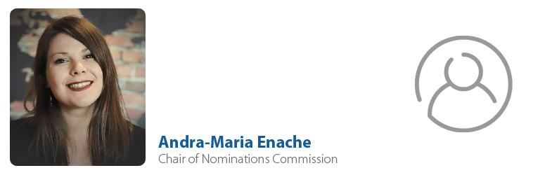 Andra-Maria Enache, IYF Chair of Nominations Commission