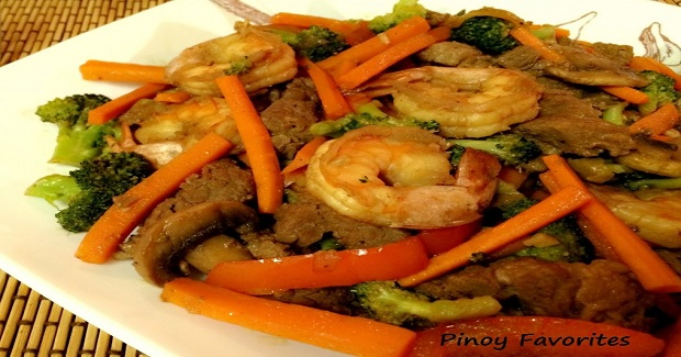 Beef And Shrimp Stir-Fry Recipe