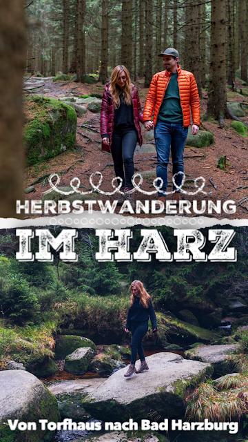 Herbstwanderung im Harz  Torfhaus – Eckerstausee – Bad Harzburg 21