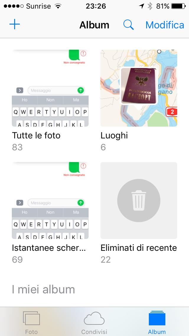Il Disinformatico Recuperare Le Foto Cancellate Da Un Iphone