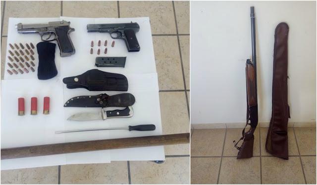 Συνελήφθη 70χρονος για παράνομη οπλοκατοχή